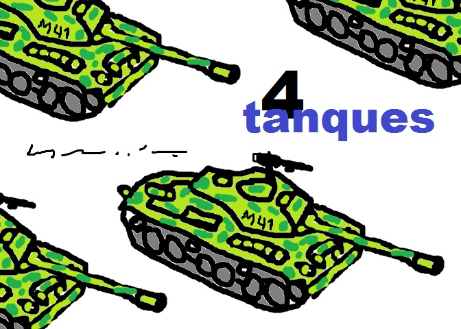 4 TANQUES