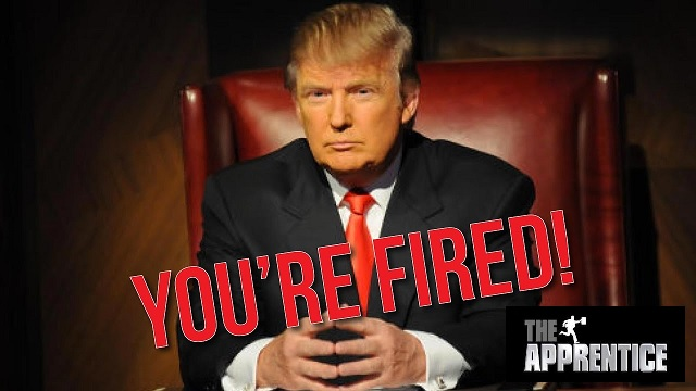 your're fired!