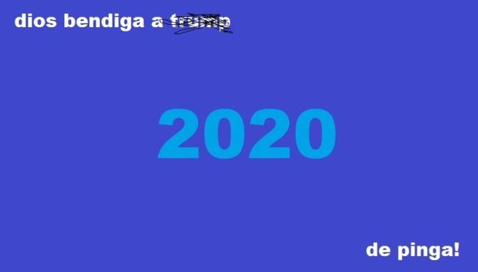 2020 blue